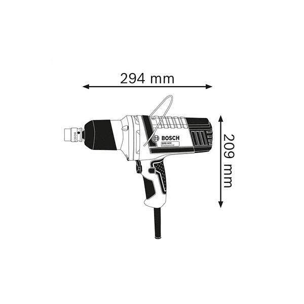 Aparafusadora de impacto GDS 18 E BOSCH