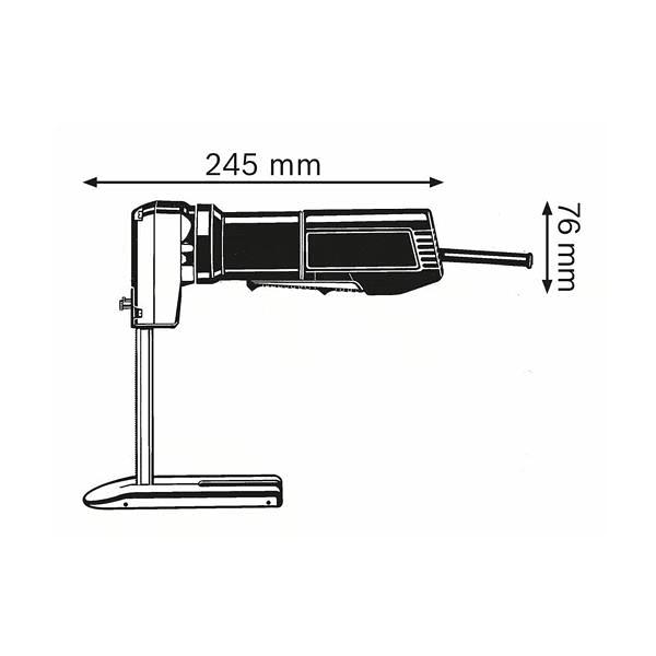 Serra para espuma GSG 300 BOSCH