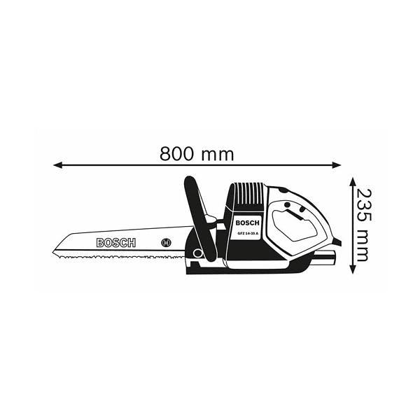 Serrote elétrico «rabo de raposa» GFZ 16-35 AC BOSCH