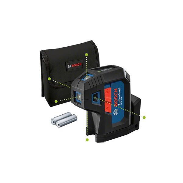 Nível laser de 5 pontos verdes GPL 5 G BOSCH