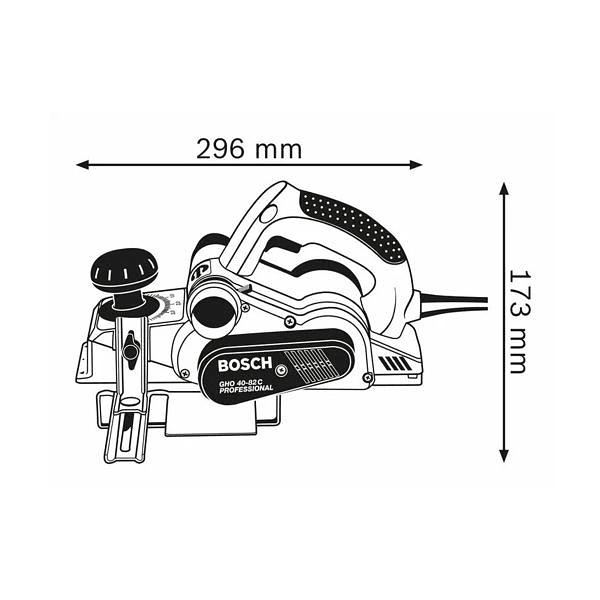 Plaina GHO 40-82 C BOSCH