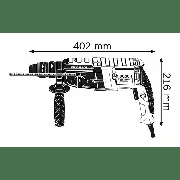 Martelo perfurador com SDS Plus GBH 2-28 F BOSCH