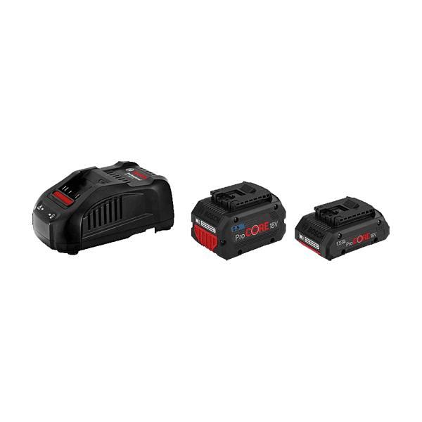 Conjunto 1 bateria ProCORE18V 4.0Ah + 1 ProCORE18V 5.5Ah + Carregador BOSCH