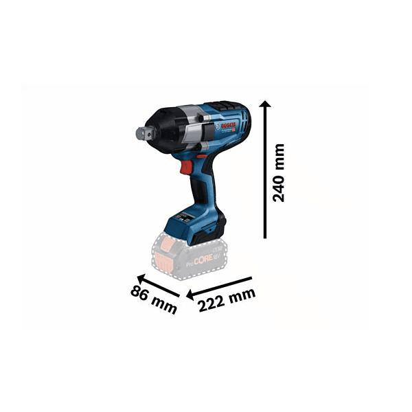Aparafusadora de impacto sem fio GDS 18V-1050 H BOSCH