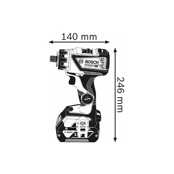 Aparafusadora/berbequim sem fio GSR 18V-60 FC BOSCH