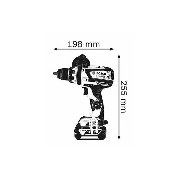 Aparafusadora/berbequim sem fio GSR 18V-110 C BOSCH