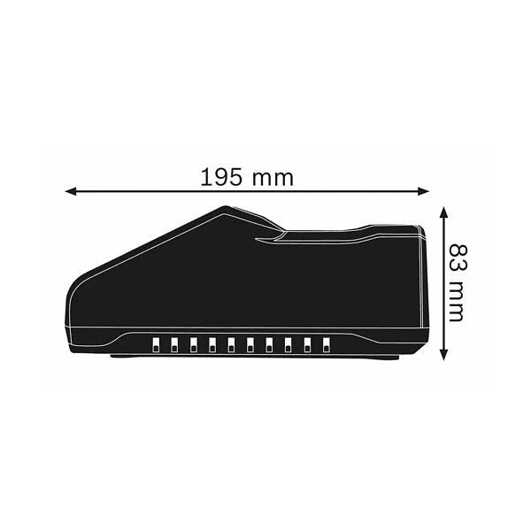 Carregador GAL 18V-160 C BOSCH