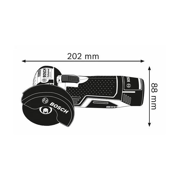 Rebarbadoras sem fio GWS 12V-76 BOSCH