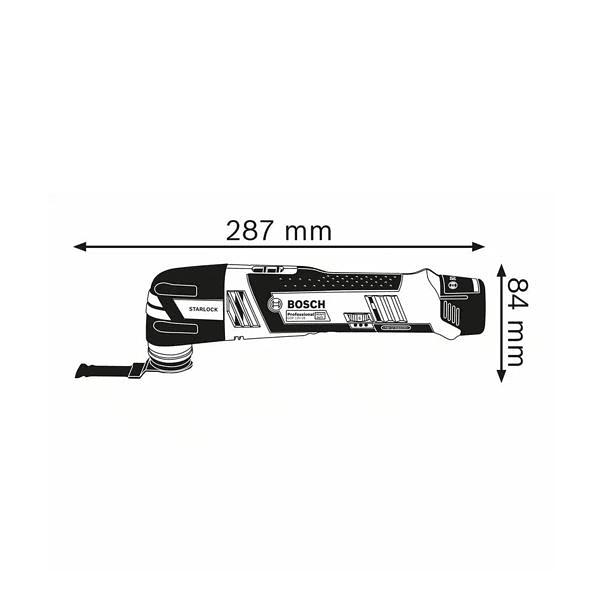 Multiferramenta sem fio GOP 12V-28 BOSCH