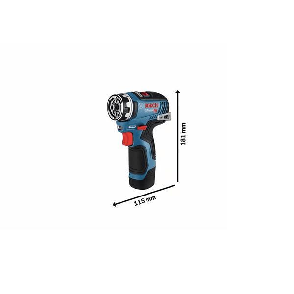 Aparafusadora/berbequim sem fio GSR 12V-35 FC BOSCH