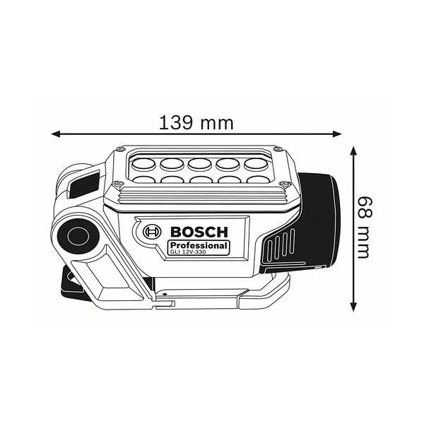Lanterna sem fio GLI 12V-330 BOSCH