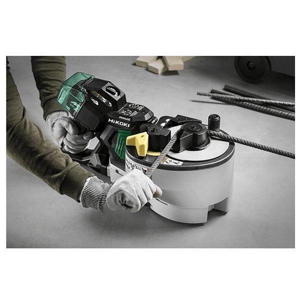 Cortador/Dobrador de varas de ferro a bateria HIKOKI (Ex HITACHI)