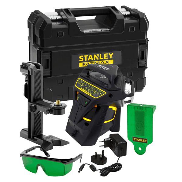 Nível Laser 3 Linhas Verdes X3G STANLEY