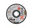 10 un. Disco de corte X-LOCK inox 125mm Standard for inox BOSCH