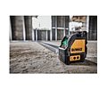 Kit XR 18 V pladur - Aparaf. pladur XR 18V Li-Ion 2,0Ah + Nível Laser de 2 linhas VERDES + Mochila para ferramentas CPROF593 DEWALT