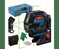 Nivel Laser combinado Linhas Verdes GCL 2-50 G BOSCH + Mala