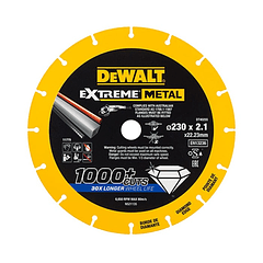 Disco de corte com borda de diamante Extreme Metal 230mm DEWALT