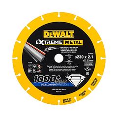 Disco de corte com borda de diamante Extreme Metal 230mm DEWALT