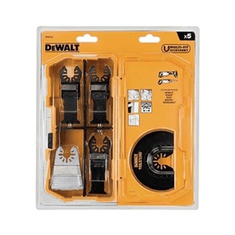 Conjunto de 5 lâminas de serra para multi-ferramenta DEWALT
