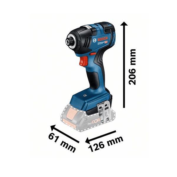 Conjunto Aparafusadora de Impacto GDR 18V-200 + Aparafusadora GSR 18V-55 BOSCH