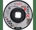 Disco de rebarbar X-LOCK 125mm Standard para Metal BOSCH (5 Un.)