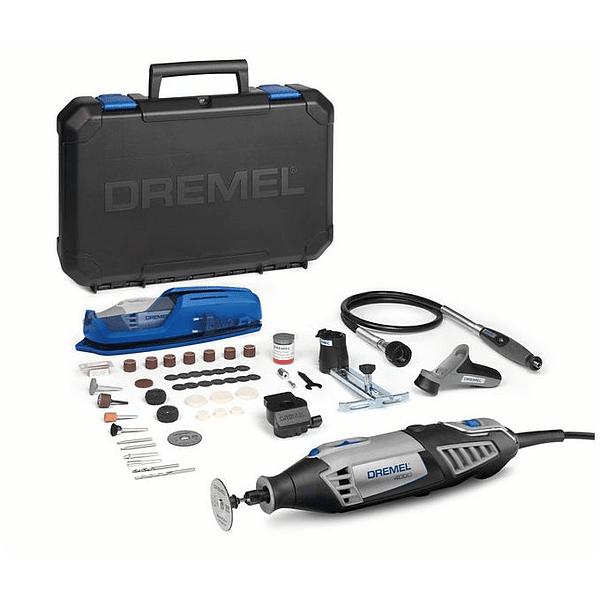 Multiferramenta DREMEL 4000 com Veio flexível + 65 acessórios