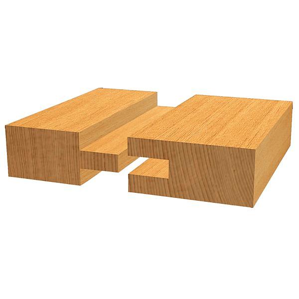 Fresa para ranhuras planas Standard for Wood BOSCH