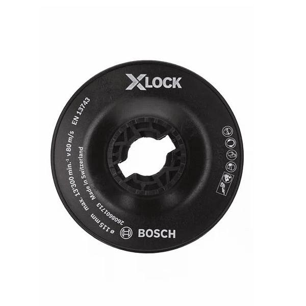Prato Base de Apoio Duro 115mm X-LOCK BOSCH