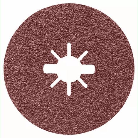 10 un. Discos lixa em fibra X-LOCK (115mm) R444 Expert for Metal BOSCH
