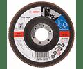 Disco lixa em lamelas 125mm X-LOCK X571 Best for Metal BOSCH (5 un.)
