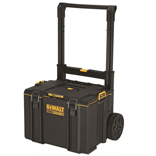 Trolley ToughSystem™ 2.0 com 3 malas empilháveis para ferramentas DEWALT