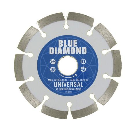 Disco de corte diamante 125mm universal CARAT