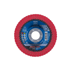 Disco de lixa Lamelas 115mm POLIFAN CURVE PREMIUM SGP AÇO + INOX PFERD
