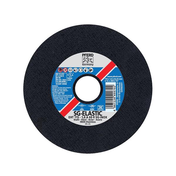 Disco de corte Inox 115mm SG-ELASTIC PFERD