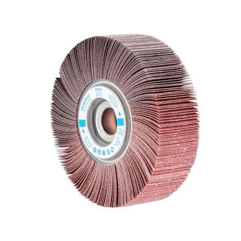 Roda de lixa lamelar 165mm com furo Tipo FR PFERD