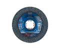 Disco de lixa Lamelas 115mm X-LOCK POLIFAN CURVE PREMIUM SGP AÇO + INOX PFERD