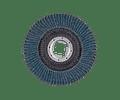 Disco de lixa Lamelas 125mm X-LOCK POLIFAN CURVE PREMIUM SGP AÇO + INOX PFERD