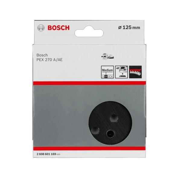 Suporte de lixa Velcro 125mm para Lixadora BOSCH
