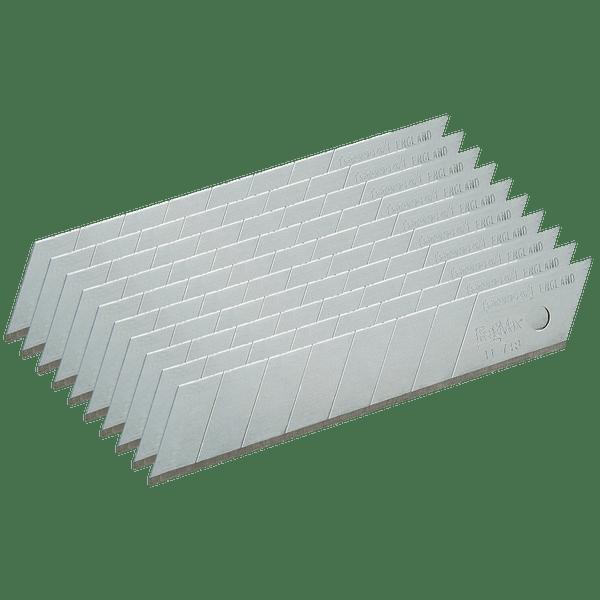 Lâminas X-ATO 18MM 0-11-718 10 Unidades STANLEY