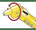 Alicate de rebitar cabeça rotativa 6-MR77 STANLEY