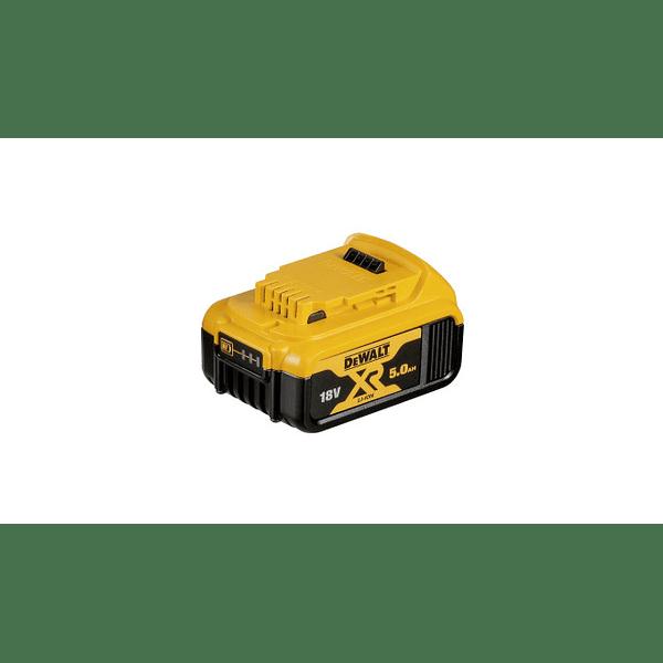 Kit 2 Baterias carril Li-Lon XR 18V - 5,0 Ah DCB184 + Carregador DCB115 DEWALT