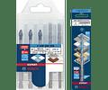 Conjunto de 5+1 Brocas de Cerâmica Betão e Multimaterial BOSCH