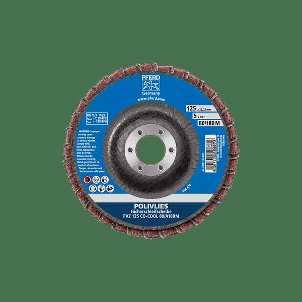 Disco de lixa Lamelas 125mm  POLIVLIES PVZ PFERD