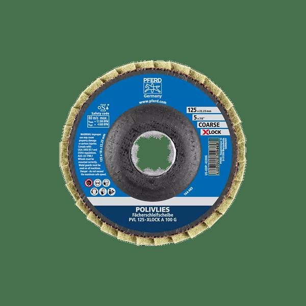 Discos de lixa Lamelas 125mm X-LOCK POLIVLIES PVL PFERD
