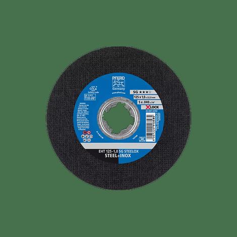 Disco de corte Aço/Aço Inox 125mm X-LOCK SG STEELOX PFERD