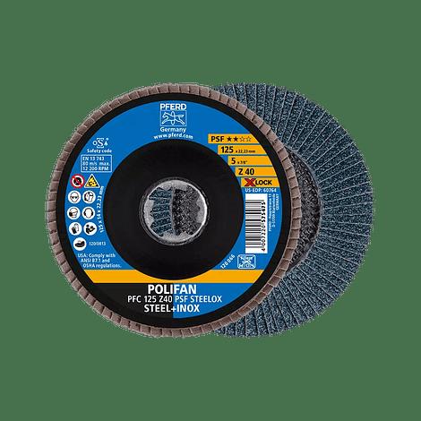 Disco lixa em lamelas 125mm X-LOCK PSF UNIVERSAL PFERD