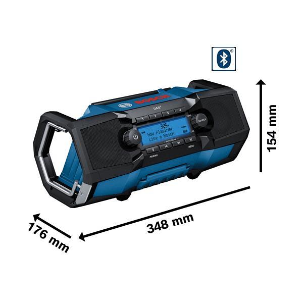 Rádio sem fio Bluetooth GPB 18V-2 C BOSCH