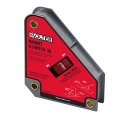 Esquadro Magnético para Soldadura com Interruptor 06751 D-SWITCH 30 SOLTER