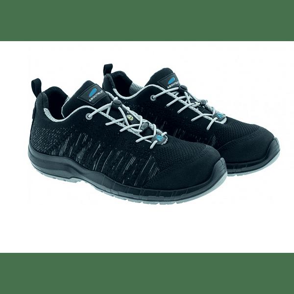 Sapato de Segurança S3 LE MANS BLACK LOW PANTHER