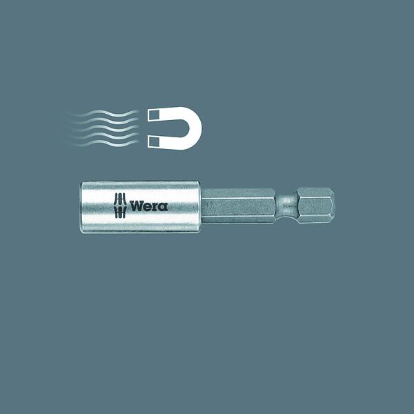 Adaptador Bits 1/4 x 50 mm 893/4/1K WERA